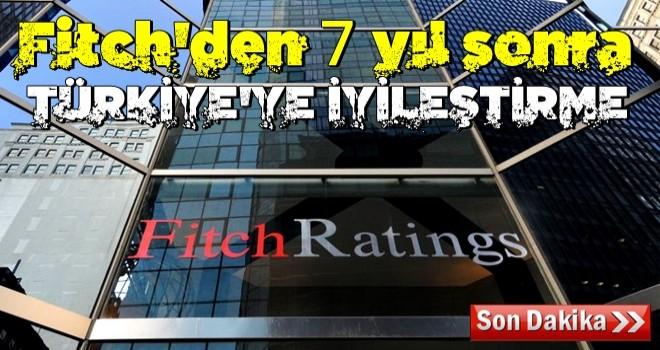 Fitch Türkiye'nin görünümünü iyileştirdi