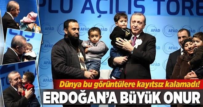 IPA, Cumhurbaşkanı Erdoğan'a