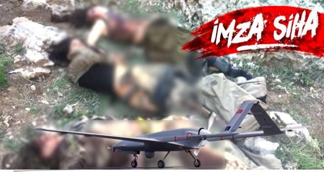 Cudi'de öldürülen terörist LEŞLERİNİN son hali..