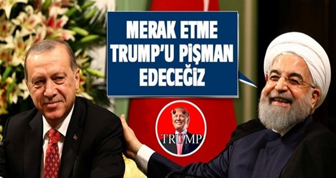 Ruhani'den Erdoğan'a: Amerikan yönetimini pişman edeceğiz