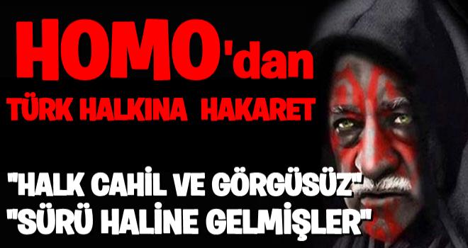 Terörist başı Fetullah Gülen'den halka hakaret! .