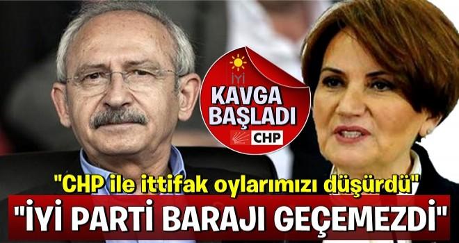 İyi Parti'nin CHP açıklaması kavga çıkardı