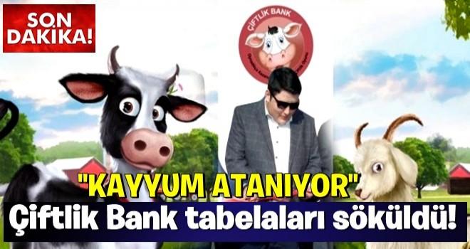 Çiftlik Bank tabelaları söküldü! Kayyum atanıyor..