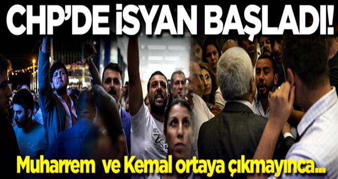 İşte CHP'de isyanın fotoğrafları!