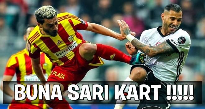 Beşiktaş'ta kırmızı kart isyanı! Uçan tekme...