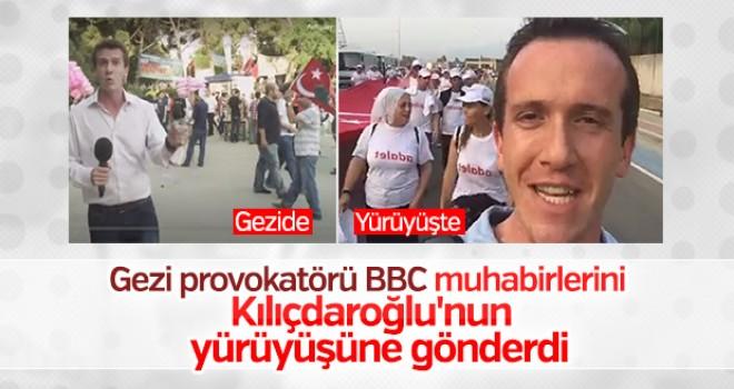 ingiliz bbc adalet yuruyusu nu kopurtmeye basladi