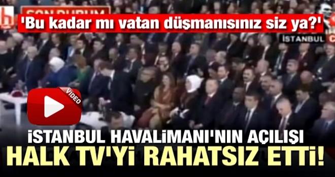 Halk TV yeni havalimanını hazmedemedi