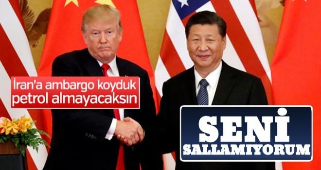 Çin'den ABD'ye: İran ile ticaretimiz sürecek