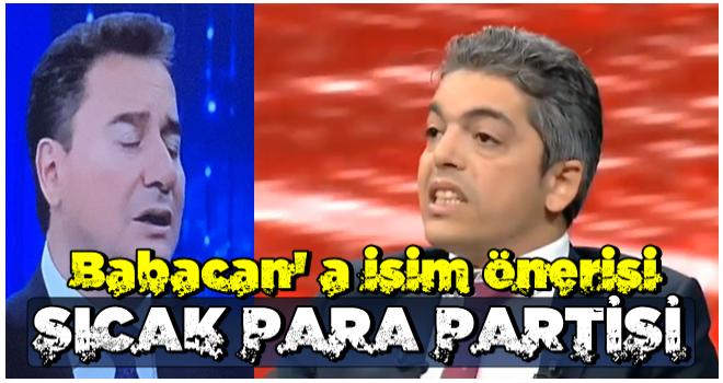 Canlı yayında olay sözler! O partiden Ali Babacan'a isim önerisi