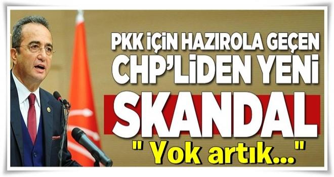 PKK için hazırola geçen CHP'liden yeni skandal .