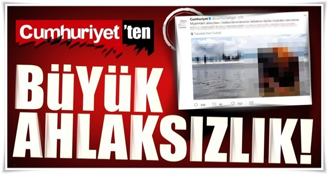 Cumhuriyet'ten skandal Arakan haberi