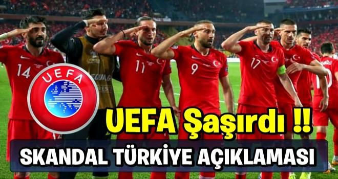 UEFA şaşırdı! Skandal 'Türkiye' açıklaması