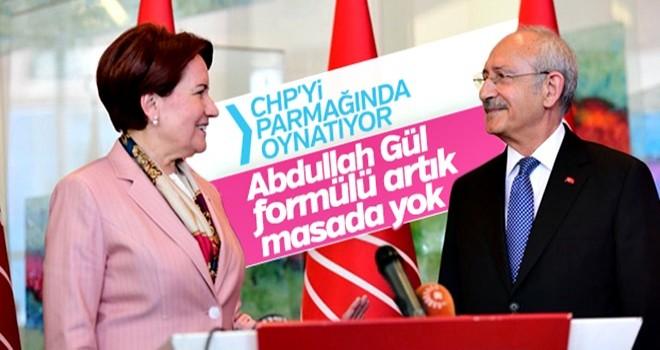 Kılıçdaroğlu Akşener'i ikna edemedi