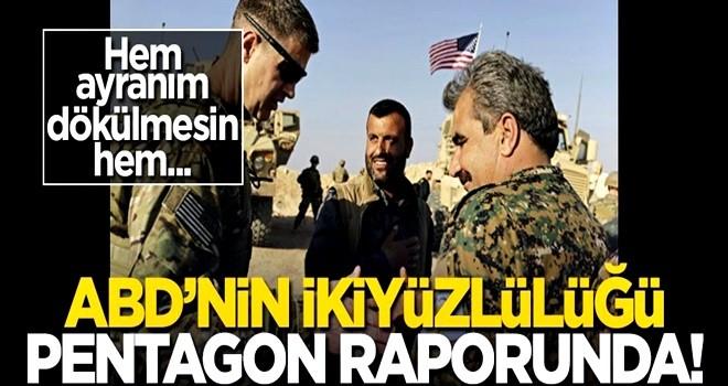 ABD'nin ikiyüzlülüğü Pentagon raporunda! Hem Türkiye'ye, hem PKK'ya!..