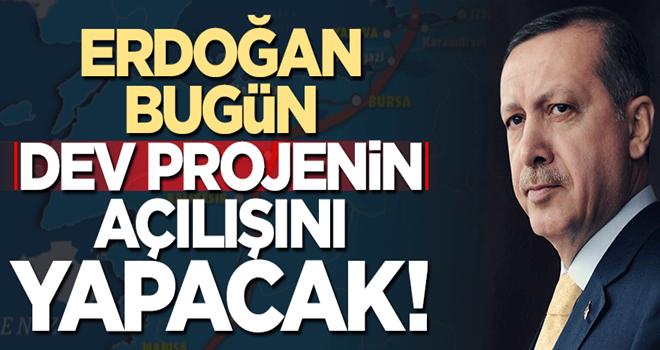 Başkan Erdoğan 'İstanbul- İzmir Otoyolu'nu bugün açacak