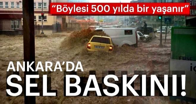 Son Dakika: Ankara Mamak'ta sağanak yağış sele neden oldu: Yaralılar var, maddi hasar büyük!