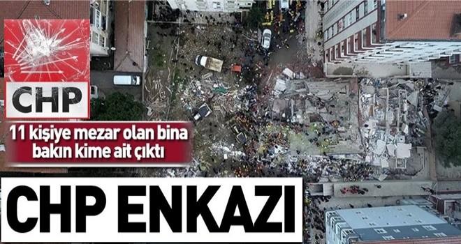 Kartal'da çöken bina CHP'li başkan yardımcısı Hüsnü Yeşilyurt'un ailesine ait çıktı .