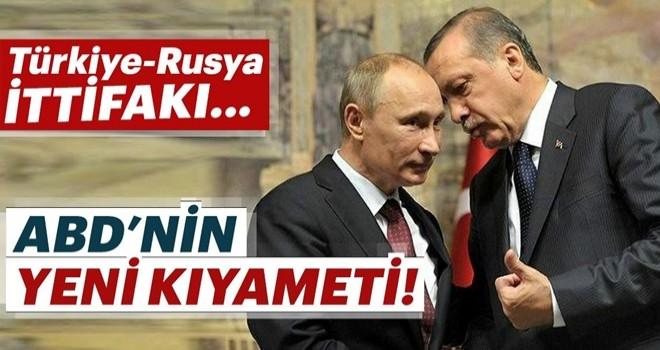 Amerika'nın yeni kıyameti Türk-Rus ittifakı