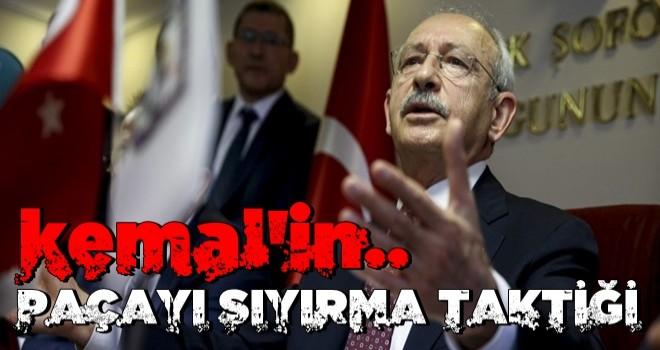 İşte rezaleti ayyuka çıkan Kılıçdaroğlu'nun paçayı sıyırma taktiği .