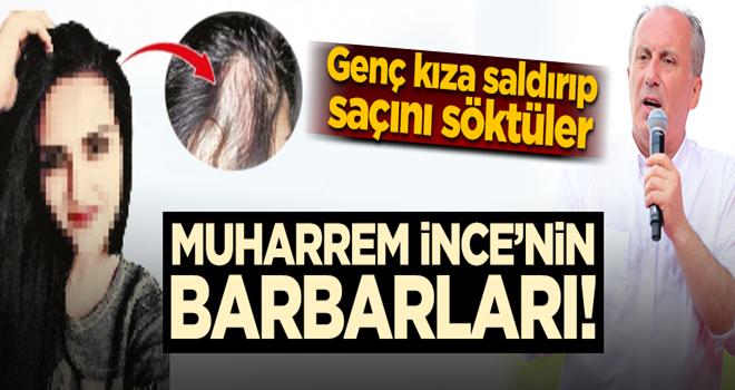 İşte İnce'nin barbarları! Erdoğan kazanacak diyen öğrenciye saldırdılar