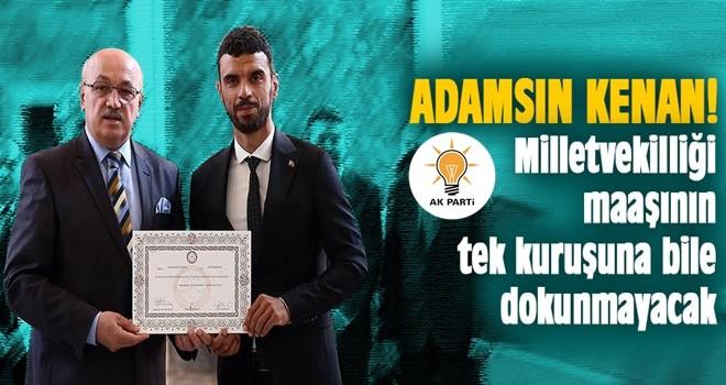 Kenan Sofuoğlu milletvekili maaşını hayır işlerinde kullanacak