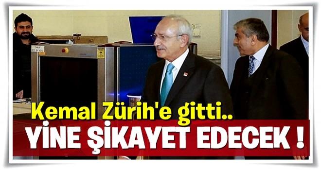 Kılıçdaroğlu, İsviçre'ye gitti