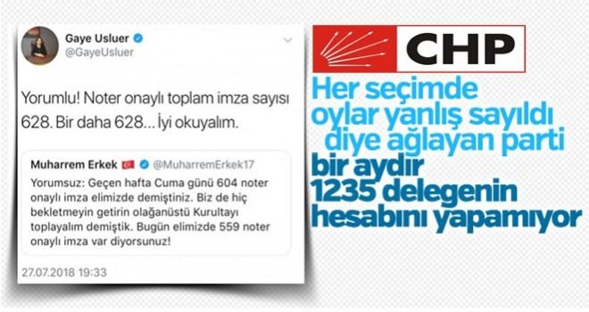 CHP'de imza tartışması devam ediyor