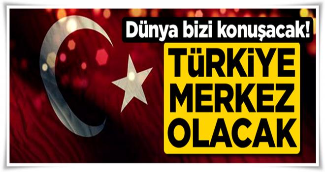 Türkiye doğalgazda 'merkez' ülke konumuna gelecek.