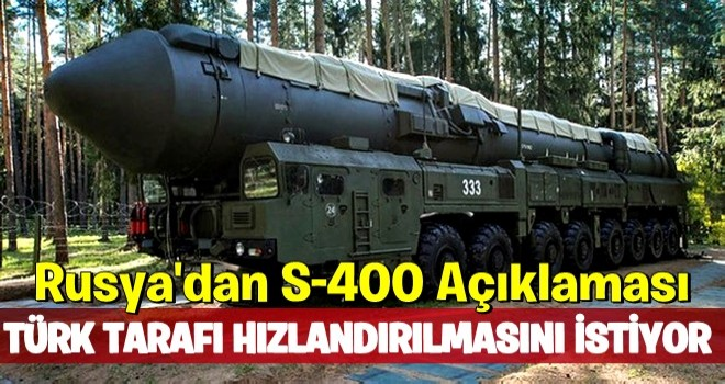 Putin'in Yardımcısı: Türkiye S-400 Teslimatının Hızlanmasını İstedi