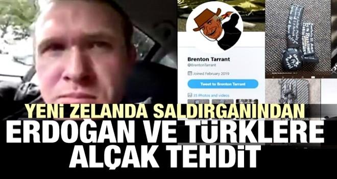 Yeni Zelanda saldırganından Erdoğan ve Türklere alçak tehdit
