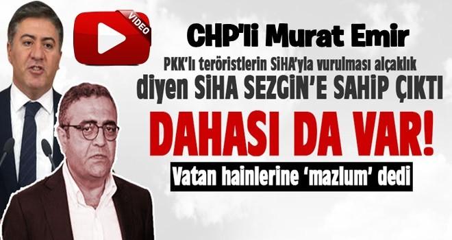 CHP'li Murat Emir SiHA Sezgin'e sahip çıktı