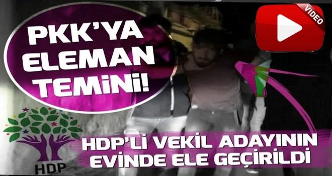 HDP'li vekil adayından PKK'ya eleman temini! .