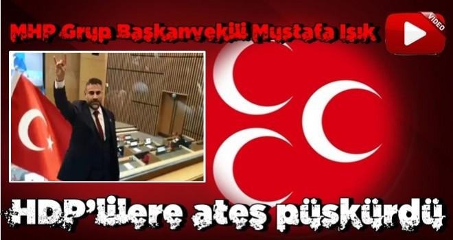 Mustafa Işık HDP'lilere ateş püskürdü