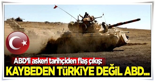 ABD'li askeri uzman açıkladı! Kaybeden Türkiye değil ABD olacak...