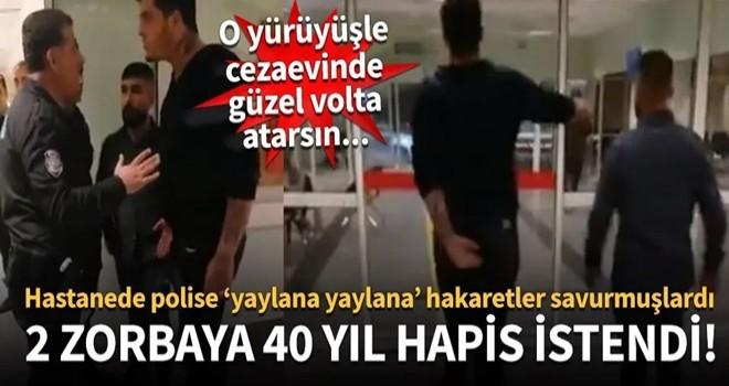 Polise diklenen iki şehir eşkiyası hakkında istenen ceza belli oldu!
