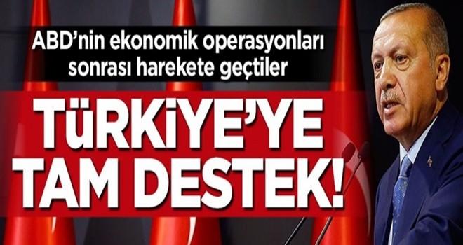 Türkiye için harekete geçtiler
