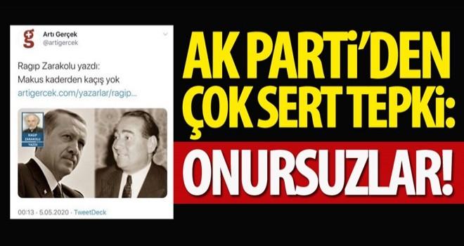 AK Parti'den alçak darbe ve idam tehdidine sert tepki