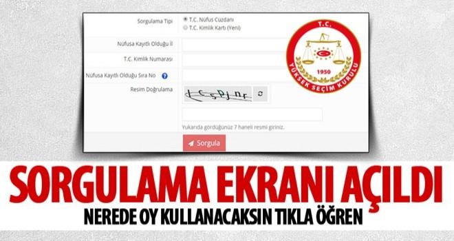 YSK seçmen portalı erişime açıldı