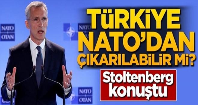 Türkiye NATO'dan çıkarılabilir mi? Stoltenberg konuştu