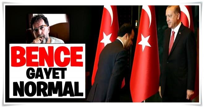 Ahmet Hakan: Gayet normal bir selamlaşma
