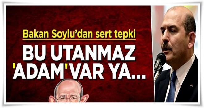 Süleyman Soylu'dan sert tepki: Be utanmaz adam var ya...