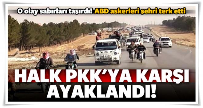 İsyan ettiler! Halk PKK'ya karşı ayaklandı
