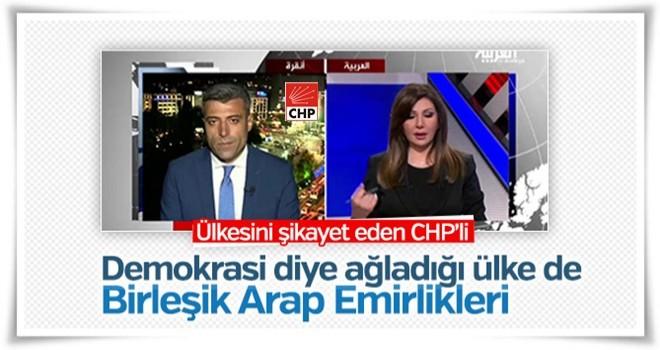 CHP'li Öztürk Yılmaz ülkesini yerden yere vurdu
