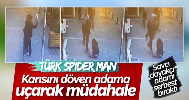 Karısını dövdüğü için kafa yiyen adamı savcı saldı