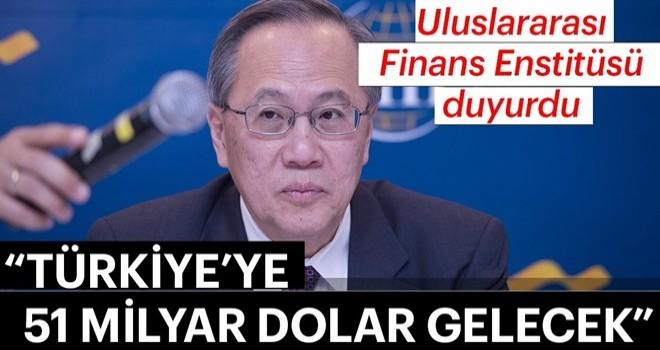 Uluslararası Finans Enstitüsü duyurdu!