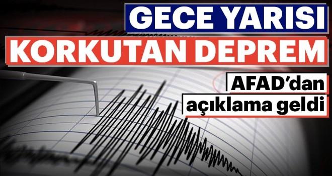 Son dakika: Antalya'da deprem! İşte son depremler