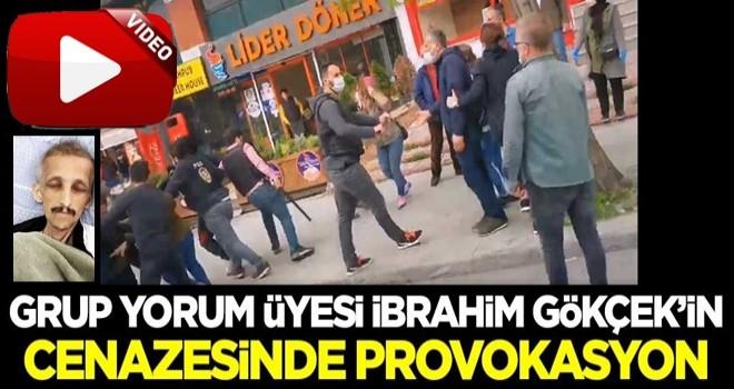 #DirenGazi dediler! Grup Yorum üyesi İbrahim Gökçek'in cenazesinde provokasyon
