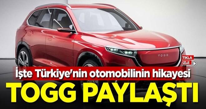 TOGG paylaştı! İşte Türkiye'nin otomobilinin hikayesi