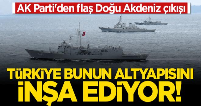 Mahir Ünal: Türkiye Doğu Akdeniz'de küresel güç olmanın altyapısını inşa ediyor