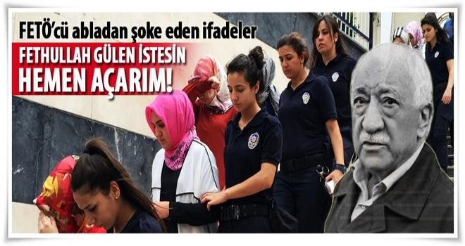'Fethullah Gülen isterse ben de başımı açarım'
